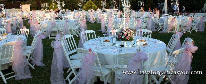 düğün organizasyon süsleme